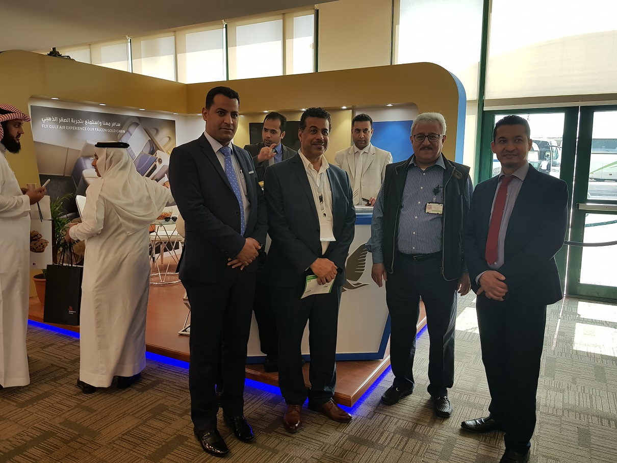 gulf air participates in 2018 saudi aramco annual travel