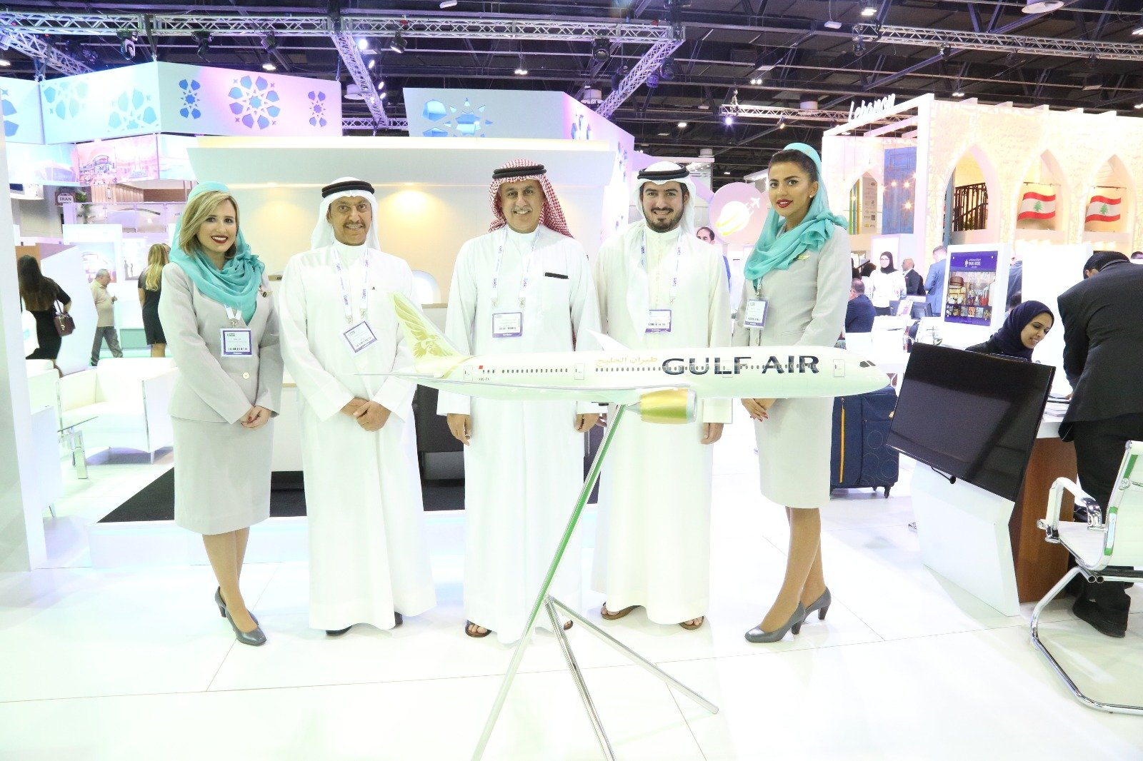 gulf air participates in arabian travel market 2018 | Gulf Air