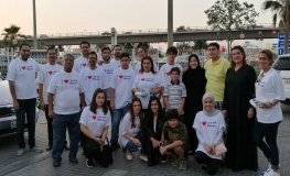 Gulf Air Onboard with Annual Ramadan Iftar Meal Box Distribution