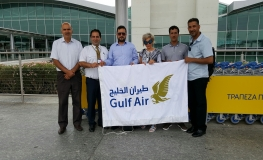 Gulf Air Celebrates 40 Years of Direct Operations between Bahrain and Cyprus