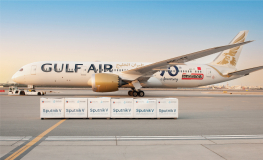Gulf Air Delivers 400,000 Vaccines from China and Russia