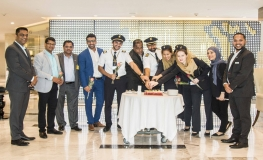 Gulf Air's Inaugural Dhaka Flight Touches Down