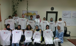 Gulf Air Welcomes Participants of Bahrain International Airport Summer Programme