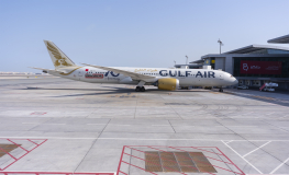 Gulf Air Operates First Commercial Flight from the New Bahrain International Airport Terminal